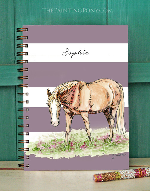 Chestnut Pony Equestrian Bullet Journal