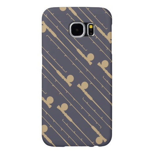 Fly Fishing Rods Pattern Phone Case