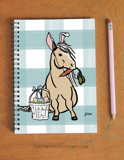 Easter Pony Spiral Notebook