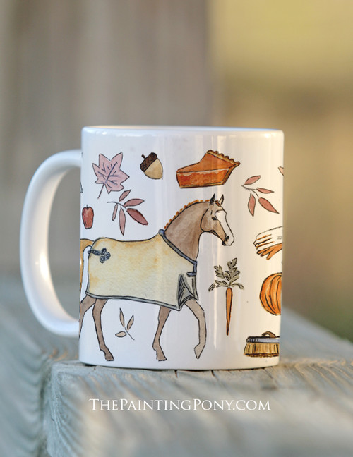 Fall Favorites Horse Lover Equestrian Coffee Mug