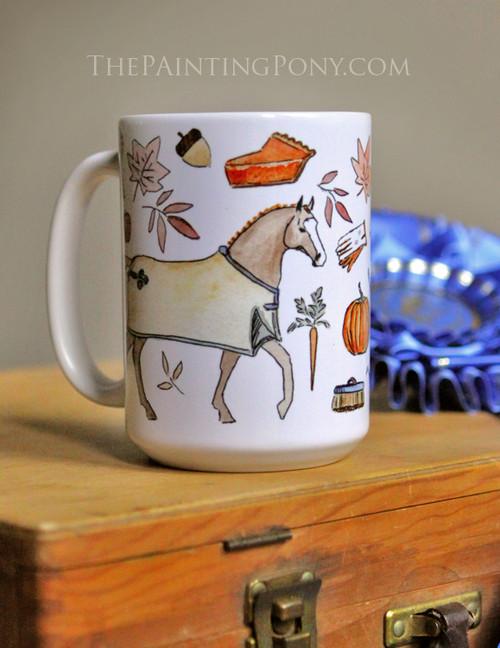 Fall Favorites Horse Lover Equestrian Coffee Mug