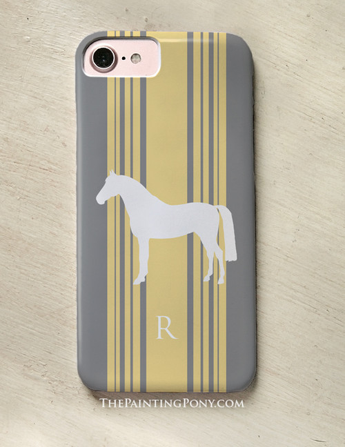 Classic Horse Personalized Equestrian Phone Case