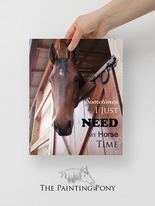 Equestrian Life Horse Print