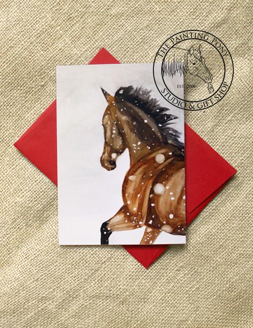Galloping Horse Christmas Cards (10 pk)