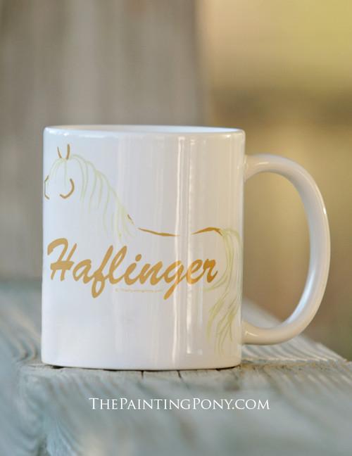 Haflinger Horse Coffee mug