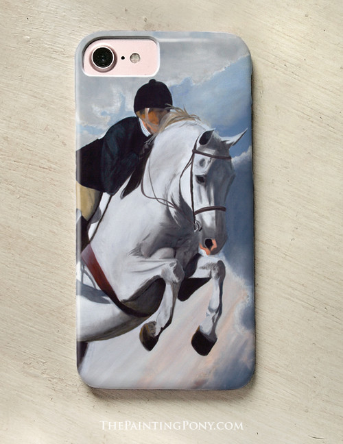 Hunter Jumper Horse Phone Case