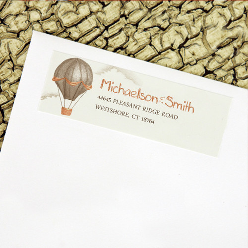 Hot Air Balloons Return Address Labels