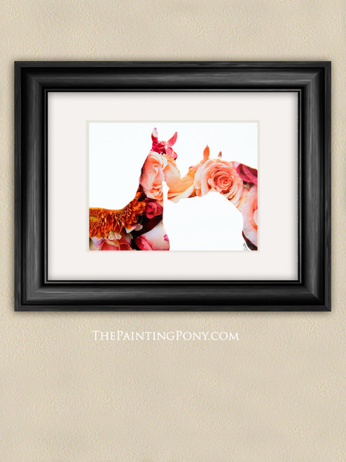Bloom Equestrian Photographic Art Print
