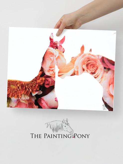 Bloom Equestrian Photographic Art Print