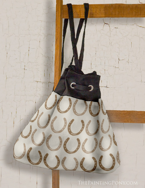 Horse Shoes Pattern Sling Bag