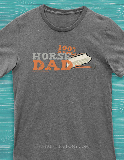 Horse Husband or Horse Dad T-Shirt