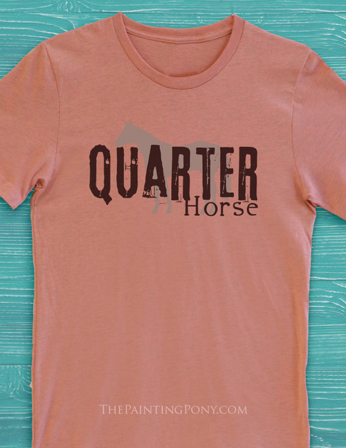 Quarter Horse Adult T-Shirt