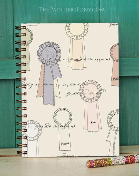Equestrian Ribbons Bullet Journal