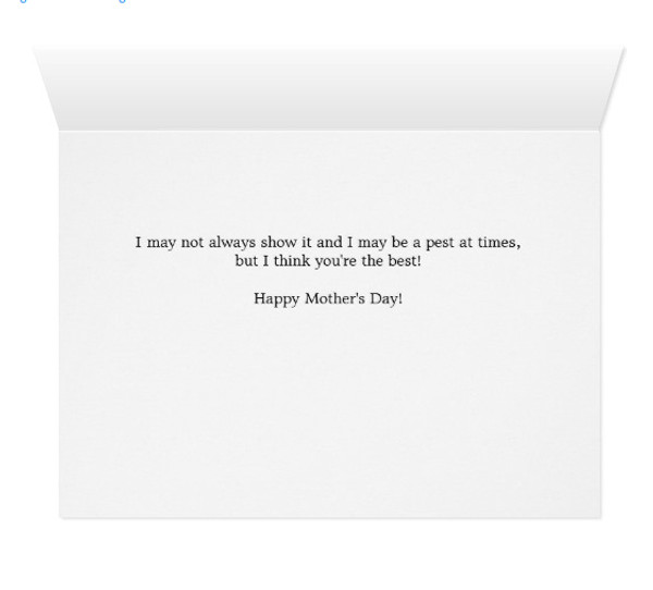 Beach Horses Mothers Day Greeting Card