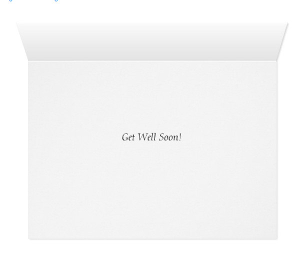 Horse Lover Get Well Soon Greeting Card