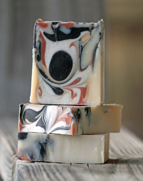 Cowgirl Cool-down with Peppermint & Lemongrass Essential Oil Soap