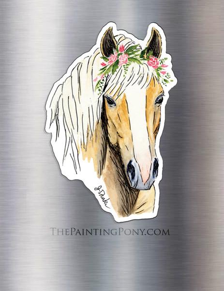 Haflinger Horse Lover Magnet