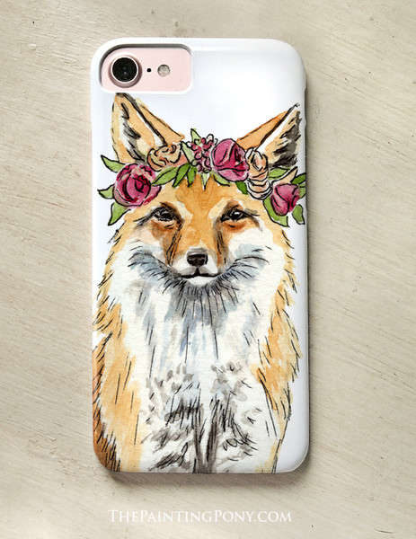 Bohemian Fox Phone Case