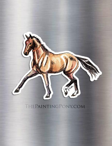 Akhal-teke Horse Lover Magnet