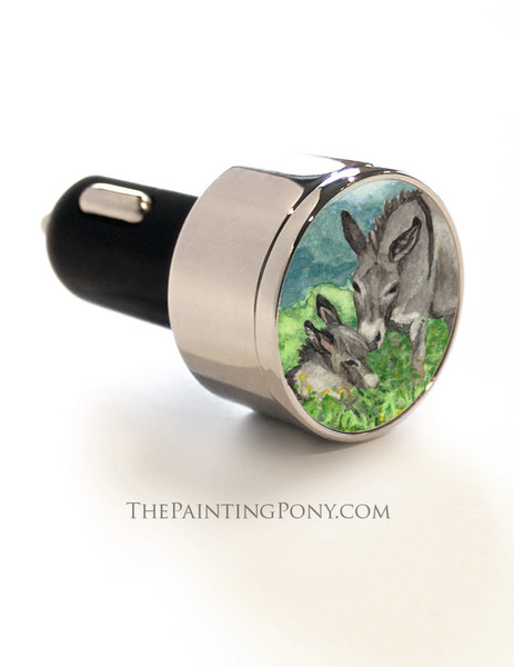 Donkey Lover USB Car Charger