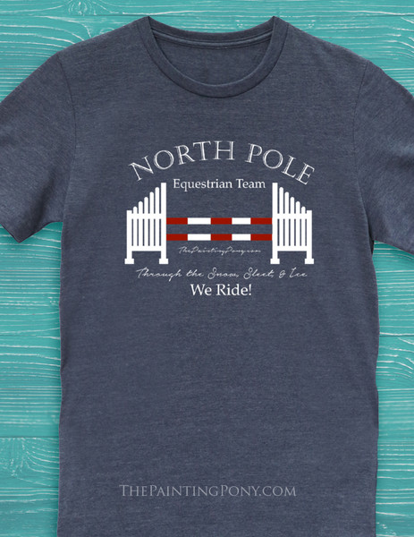 North Pole Equestrian Tee T-Shirt