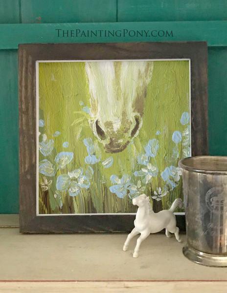 "Equestrian Fine Art Print ""Day Dream"""