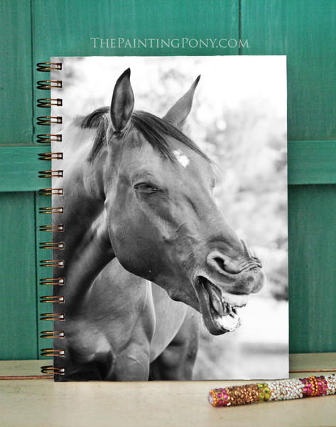 Laughing Horse Equestrian Bullet Journal