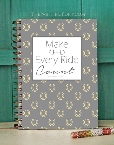 Make Every Ride Count Equestrian Bullet Journal