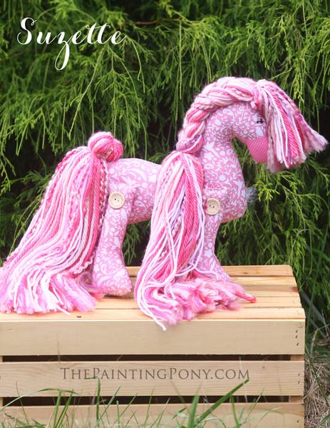 """Flopsy Cotton Pony """"Suzette"""""""