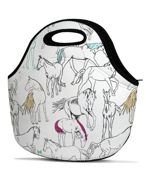 Horse Lover Lunch Tote Bag