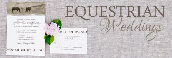 Horse Lover Wedding Invitations