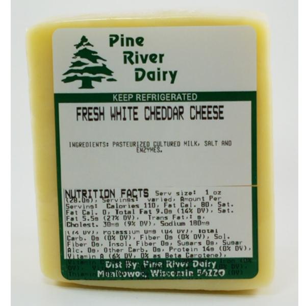 Fresh Cheddar Cheese - White