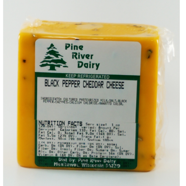 Black Pepper Cheddar Cheese