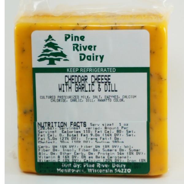 Garlic & Dill Cheddar Cheese