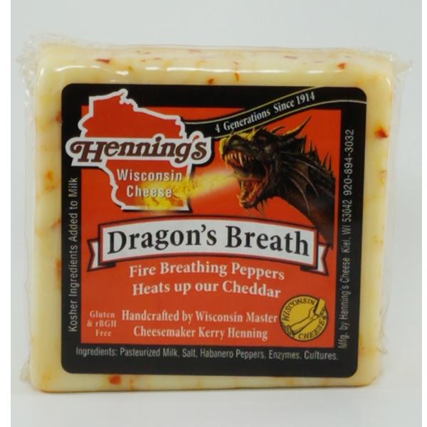 Henning's Dragon's Breath Cheddar Cheese