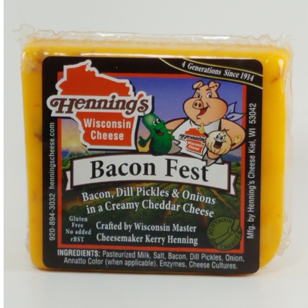 Henning's Bacon Fest Cheddar Cheese