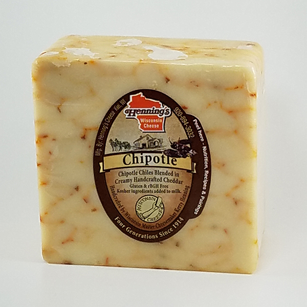 Henning's Chipotle Cheddar Cheddar Cheese