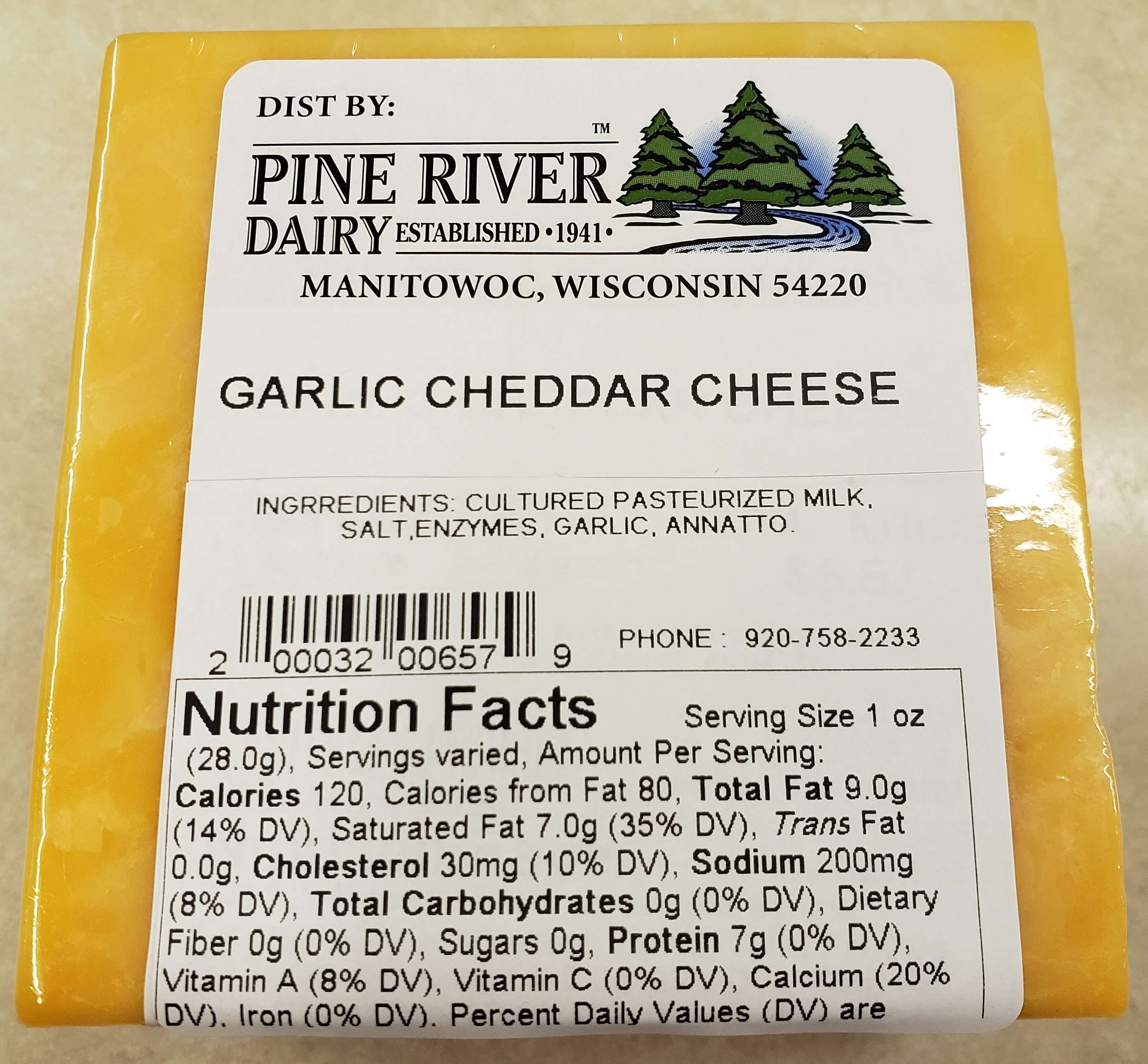 Garlic Cheddar Cheese