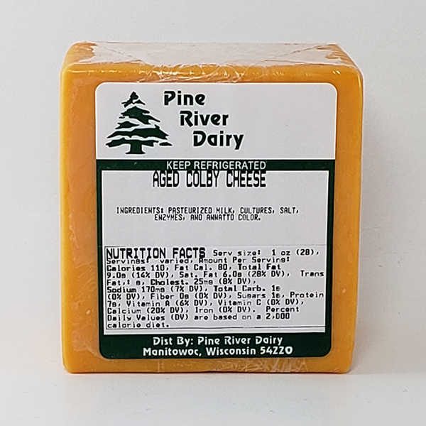 Aged Colby Cheese