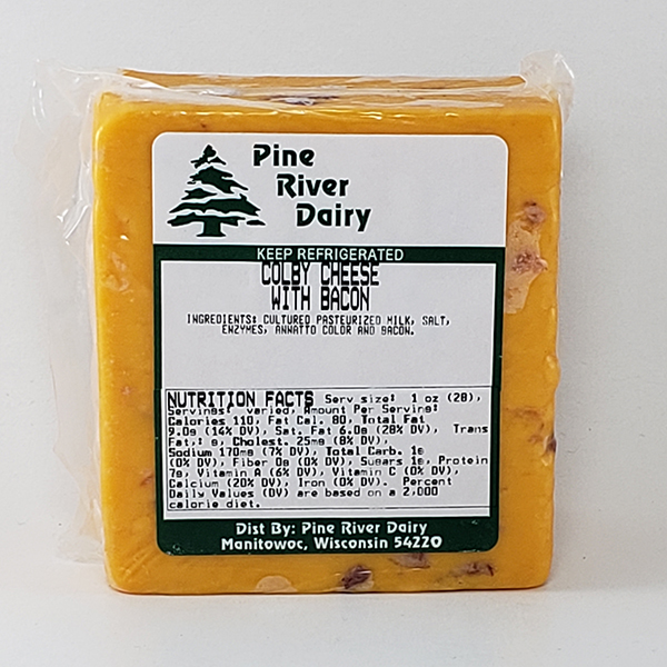 Colby Cheese with Bacon