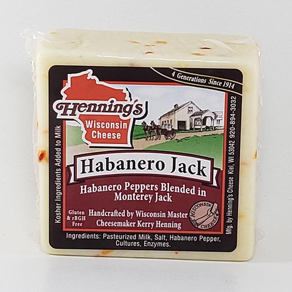 Henning's Habanero Jack Cheese