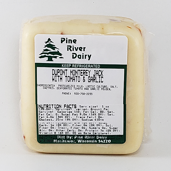 Dupont Monterey Jack Cheese With Tomato & Garlic
