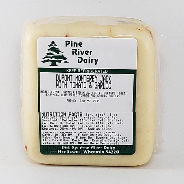 Dupont Monterey Jack Cheese With Tomato & Garlic