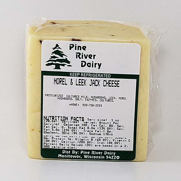 Morel & Leek Jack Cheese