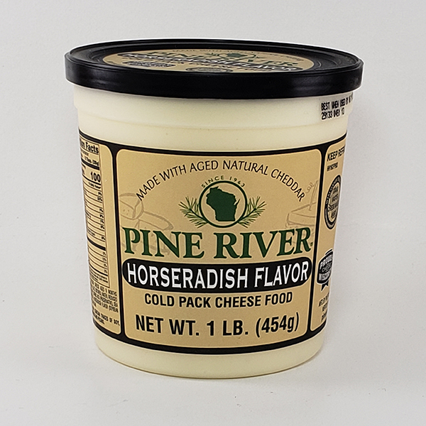 Pine River Horseradish Cheese Spread - Large