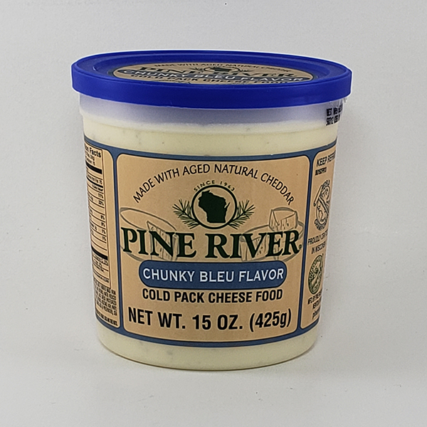 Pine River Chunky Bleu Cheese Spread - Large