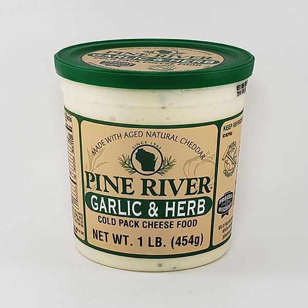 Pine River Garlic & Herb Cheese Spread - Large