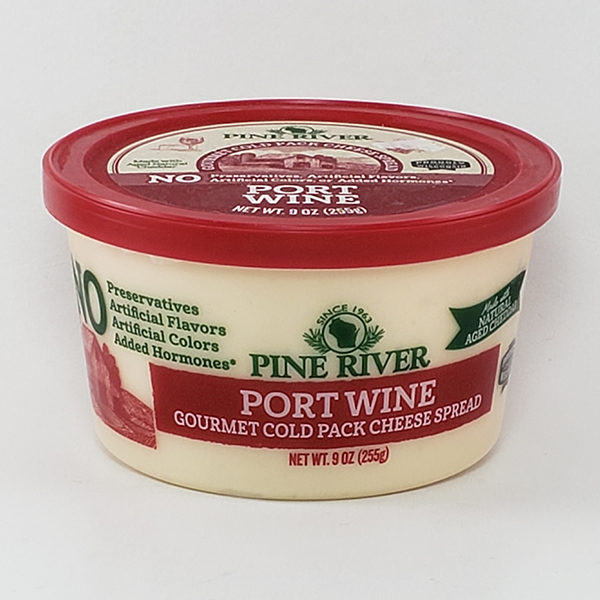 Pine River GOURMET Port Wine Cheese Spread
