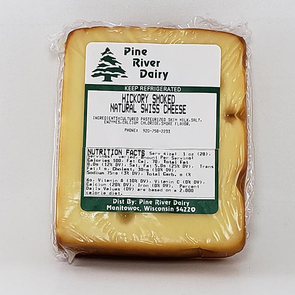 Hickory Smoked Swiss Cheese