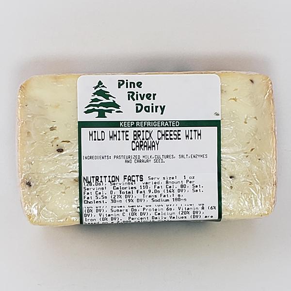 Widmer's Caraway Brick Cheese